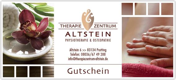 therapiezentrum altstein online gutscheine. Black Bedroom Furniture Sets. Home Design Ideas